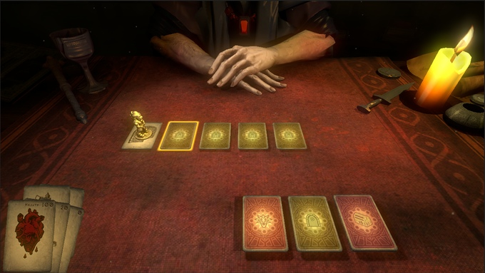 Hand of Fate is a completely different game each time you play.