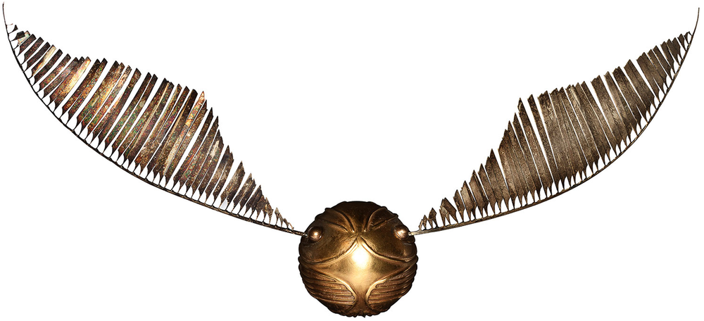 There has to be a solid gold Golden Snitch out there somewhere, right?