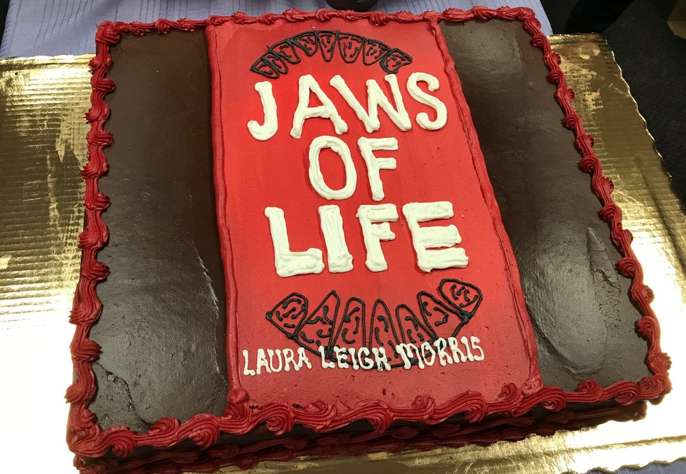 The best book signings have chocolate cake...so you readers can devour the book...in more ways than one.