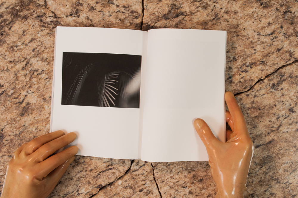 Residing in a space between zine and book, a photographic collaboration between Justin Coakley Hunt and Scott Ener Grover is presented in physical form.