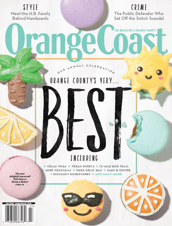 - Orange Coast Magazine - Best of 2016 COVER