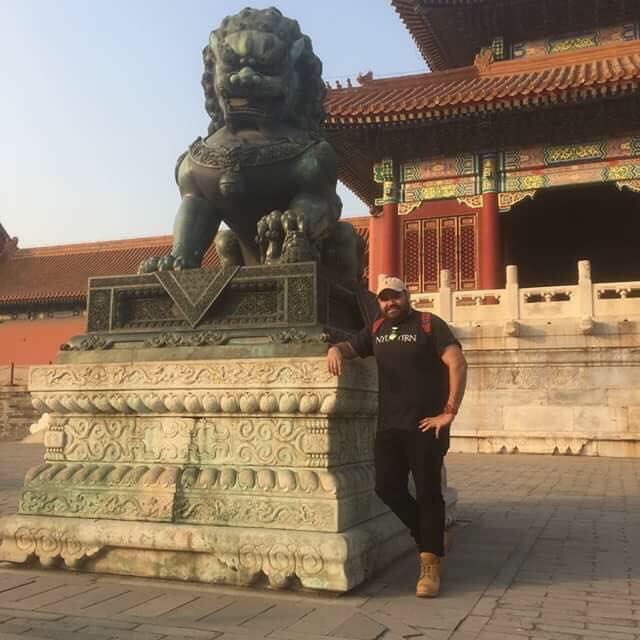 Glen Duncan at the Forbidden City