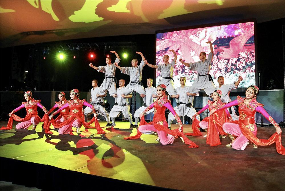 Martial arts performance. Photo provided by Nanhai Media Group.