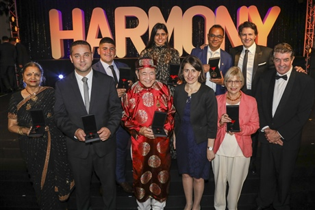 2018 NSW Premier's Multicultural Community Medal Winners. Photo credit: Salty Dingo.