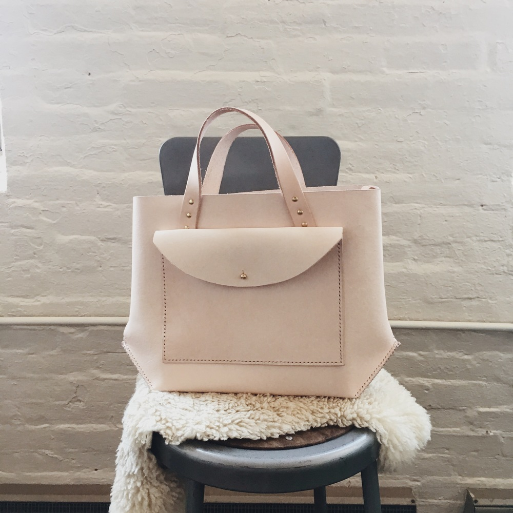 Brand new Pocket Tote in Natural.
