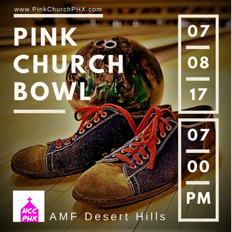 #PinkChurchPHX Bowling Night