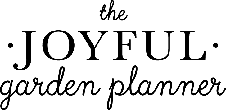 The Joyful Garden Planner