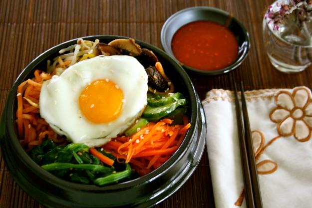 bibimbaap, marcus samuelsson, korean