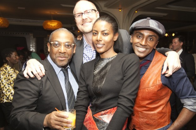 maya haile, marcus samuelsson, three goats, cocktail party