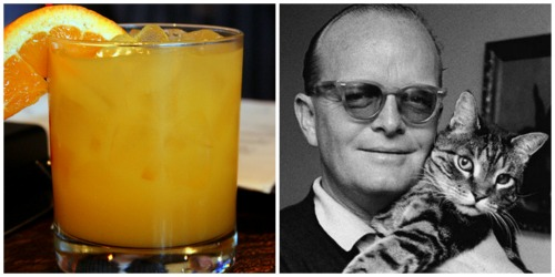 "Truman Capote and The Screwdriver ""Failure is the condiment that gives success its flavor."" photos by: Muy Yum, monk"