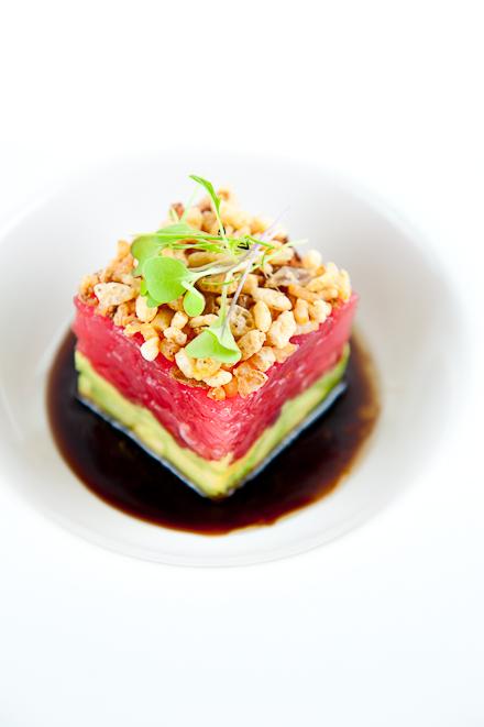 tuna, avocado, soy, tartare