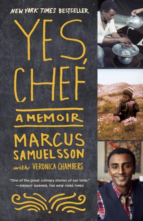 yes chef, memoir, marcus samuelsson, IACP