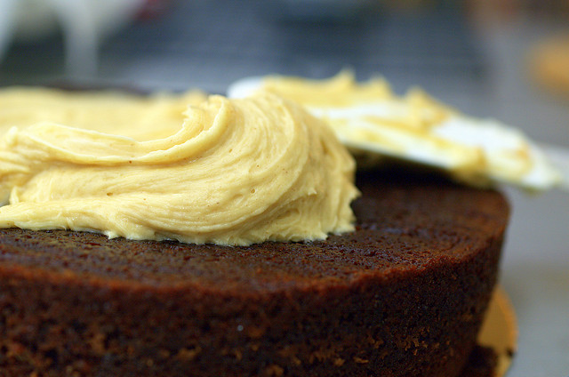 cake, frosting, how to