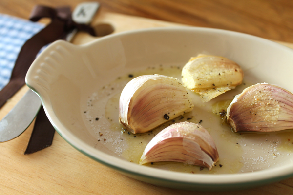 roasted garlic, spring garlic, garlic