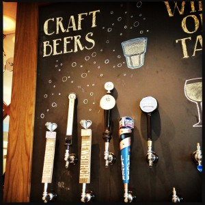 Craft Beer at Uptown Brasserie