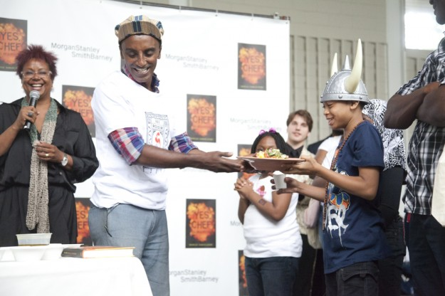 marcus samuelsson, yes chef, marcus garvey park, community