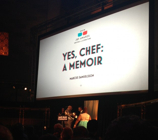 james beard, yes chef, winner, media awards