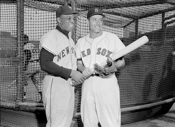 Willie Mays and Jimmy Piersall.