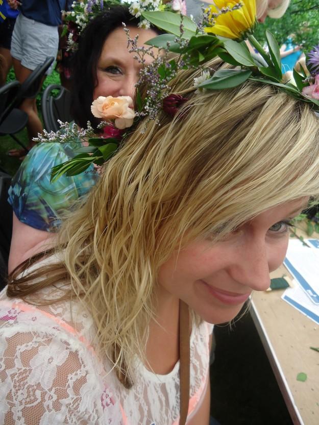 midsommar, midsummer, floral wreaths