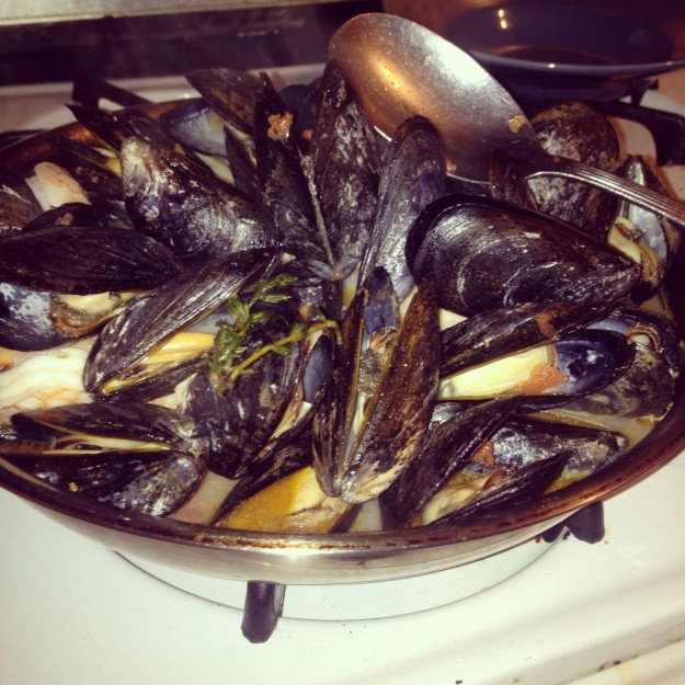 seafood, dinner, mussels, recipe roundup