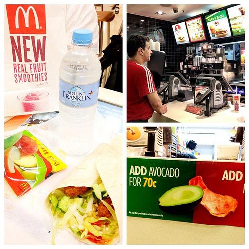 healthy McDonald's