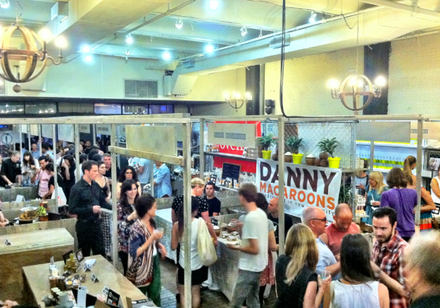 Last year's Super Duper Market at Chelsea Market. This year's will be held on Mulberry and Prince.