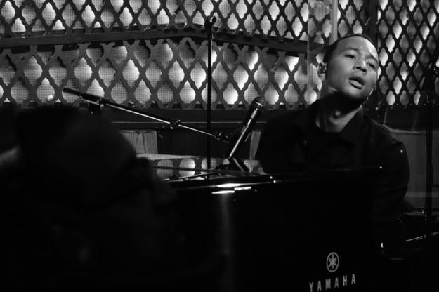 John Legend at Ginny's