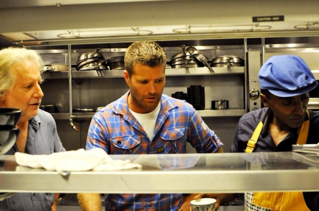 Chefs Jonathan Waxman, Pete Evans and Marcus