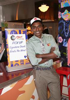 Marcus Samuelsson at the Streetbird Launch Party