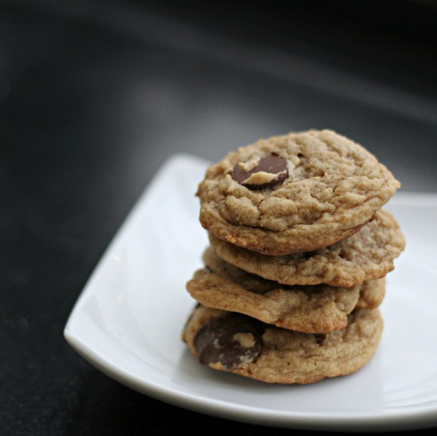 Peanut Butter. Banana. Chocolate. Yes, you've died and gone to cookie heaven.