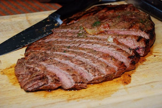 Flank Steak with Rosemary Recipe — Chef Marcus Samuelsson