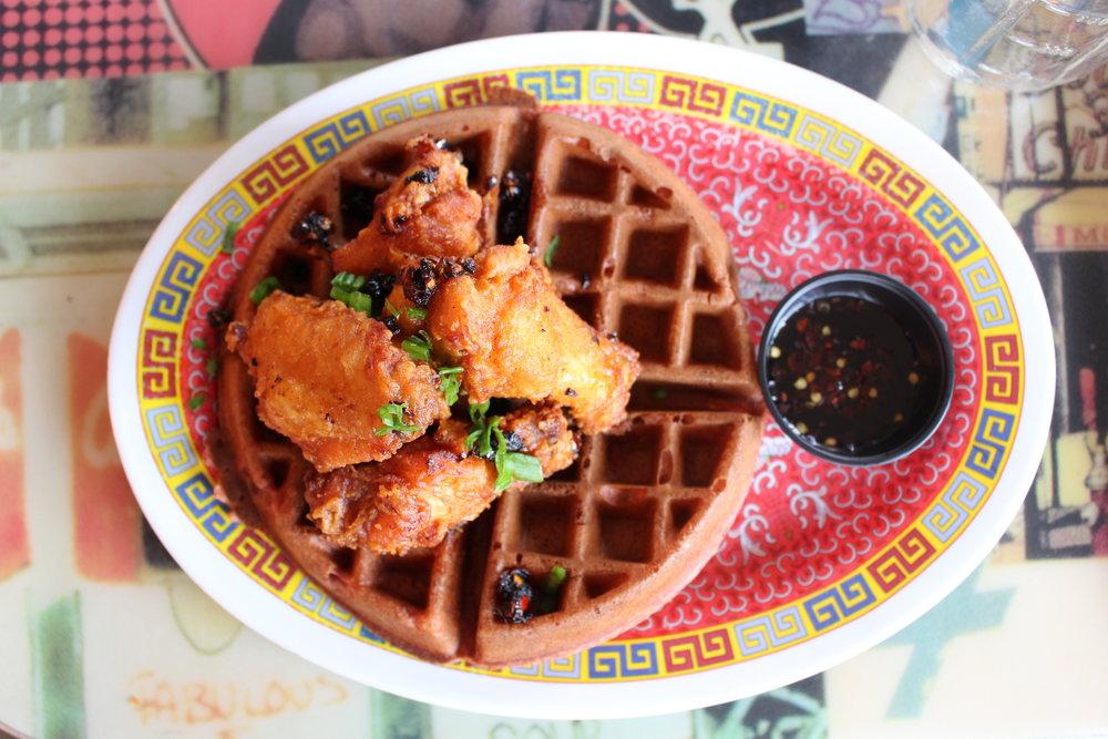 Marcus Samuelsson Streetbird Red Velvet Waffle