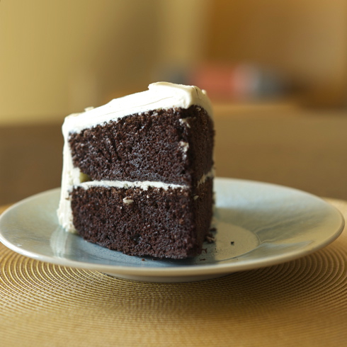Chocolate Birthday Cake with Vanilla Frosting Recipe Chef Marcus