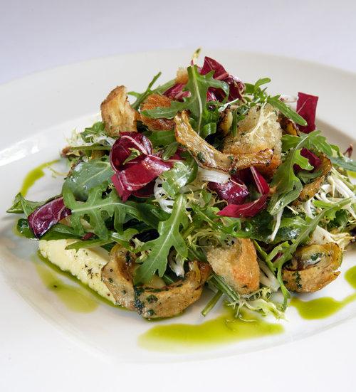 Jardiniere Warm Bread Salad Recipe Chef Marcus Samuelsson
