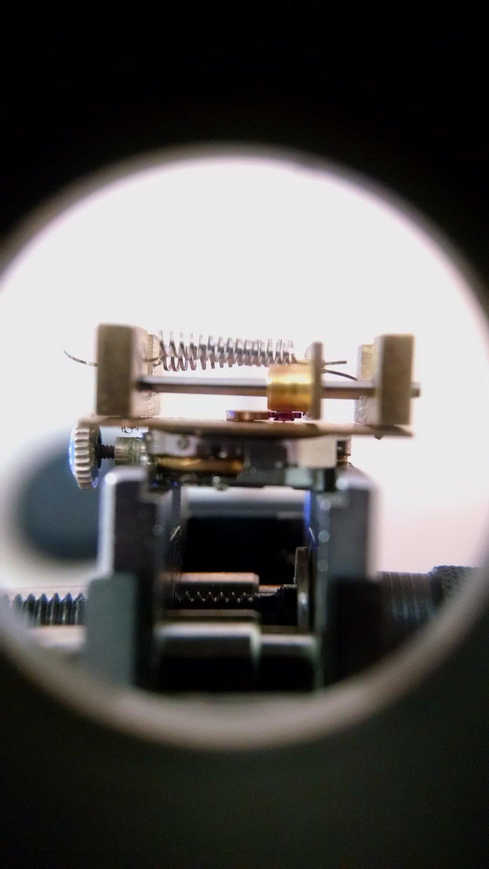 Raincloud Automaton Mechanism