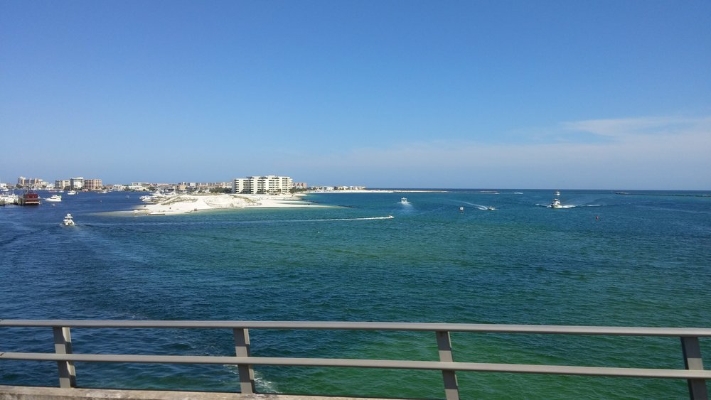 East Pass, Destin, Florida - View from the Destin Bridge