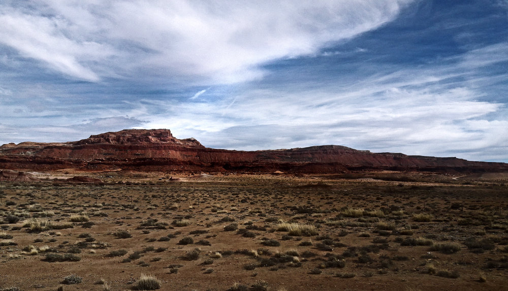 The Painted Desert mesa