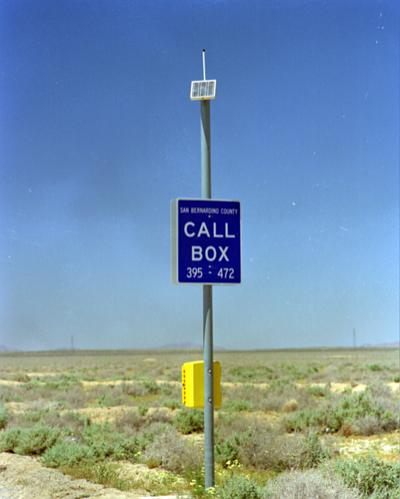 Roadside Safety Call Box