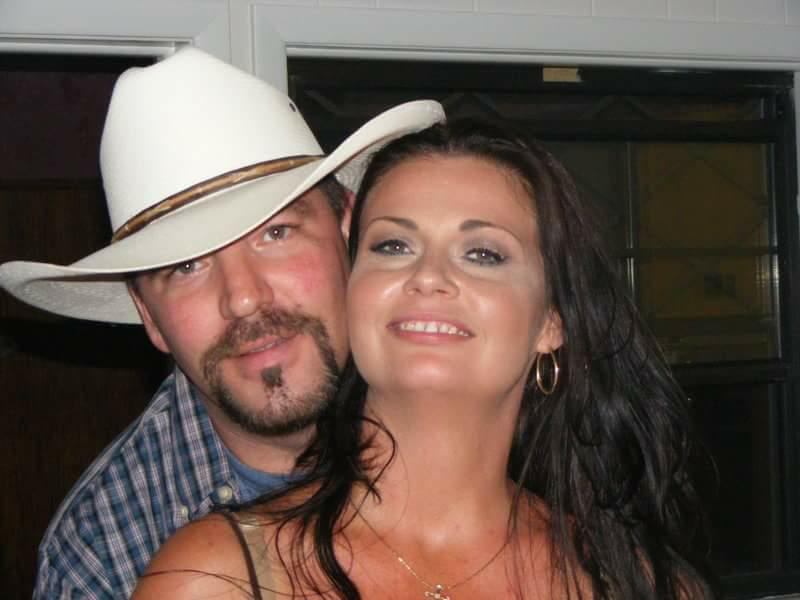 Taylor Barker and his beautiful wife, Cherie.