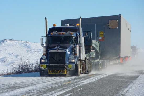 Carey Hall from IRT on the Haul Road to Prudhoe Bay, Alaska.