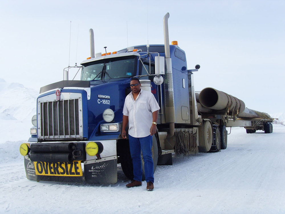 Carey Hall from Ice Road Truckers.