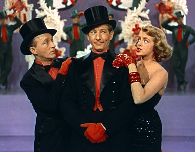 White Christmas staring Bing Crosby and Rosemary Clooney