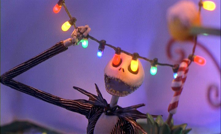 Jack Skellinton in Tim Burton's The Nightmare Before Christmas