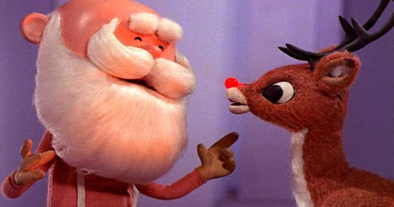 The stop-motion animation classic, Rudolf the Red-Nosed Reindeer.