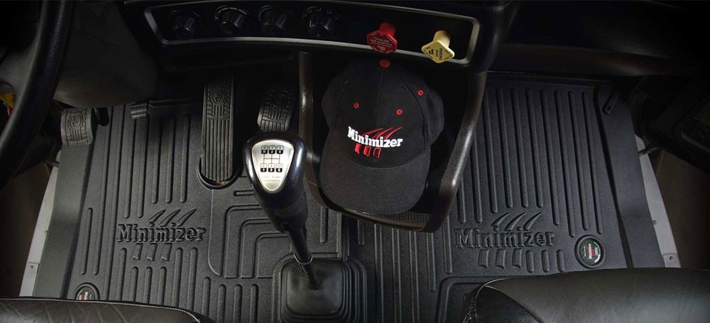 Minimizer durable floor mats