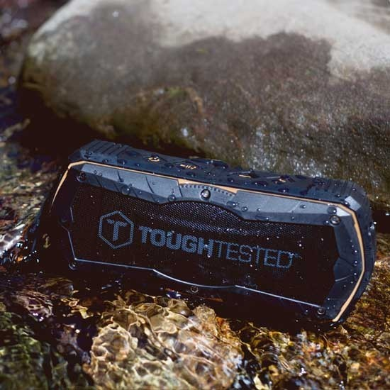 Rugged Bluetooth speaker by Tough Tested