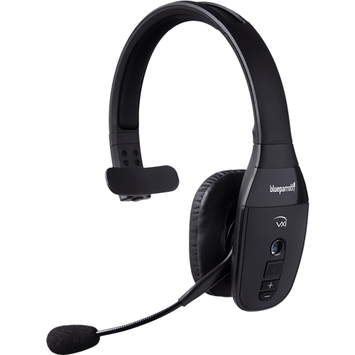 Blue Parrot vxi B450-XT headset with superior noise cancellation.