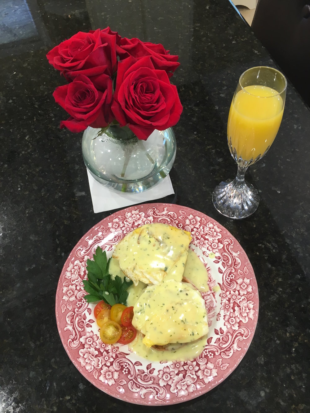 Mimosa and Eggs Jefferson