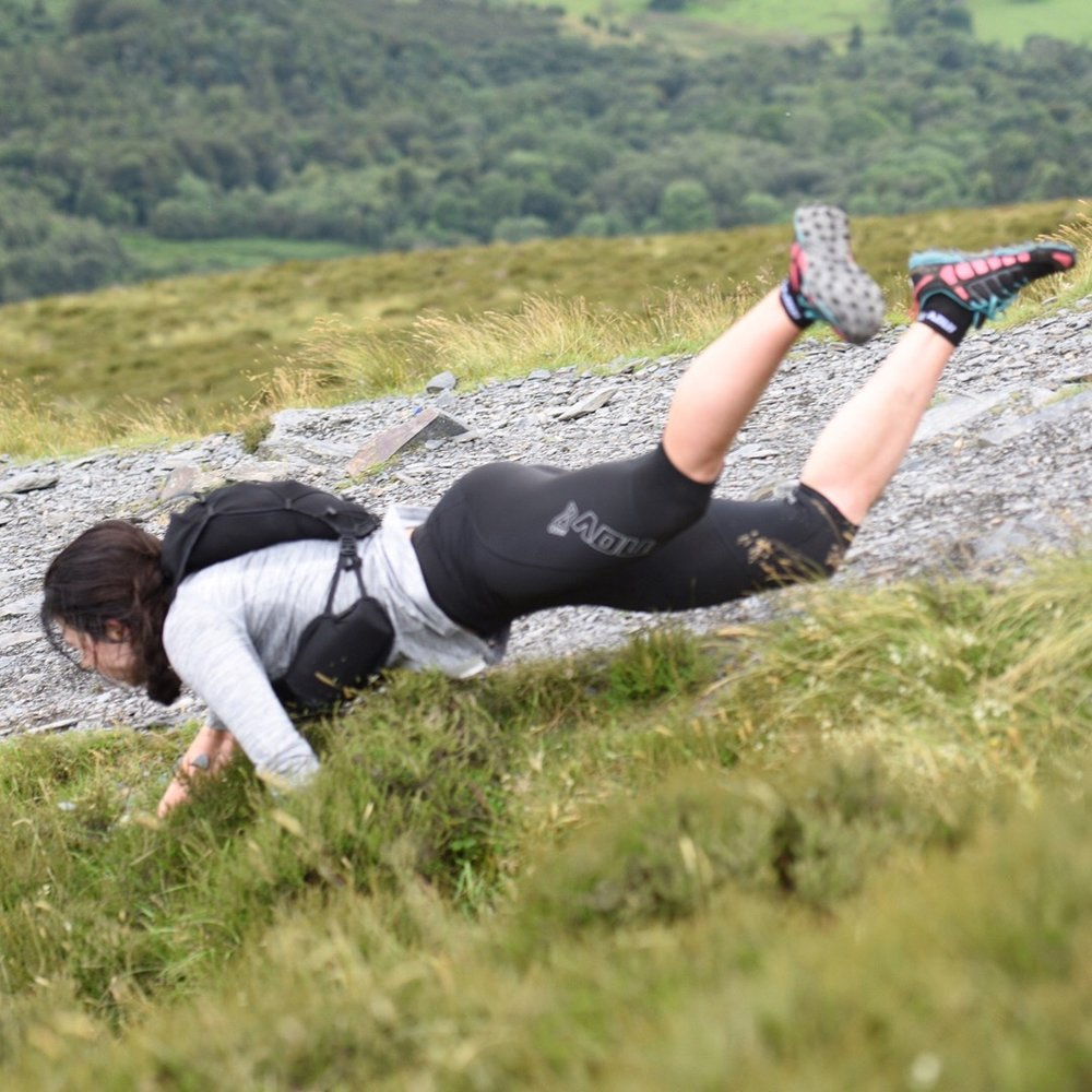 My foray into fell running. PC: Stephen Wilson