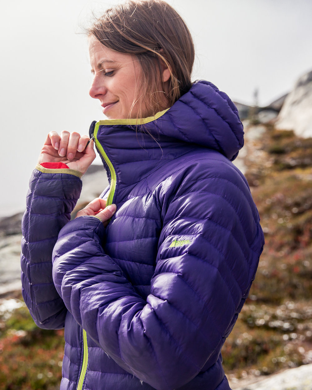 One must always travel with  warm layers  in the alpine.